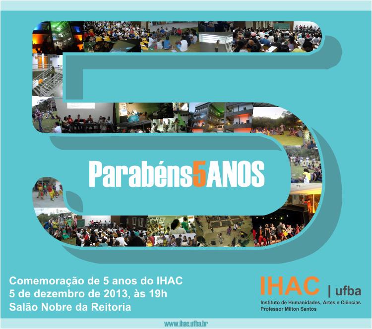Aniversário de 5 anos do IHAC
