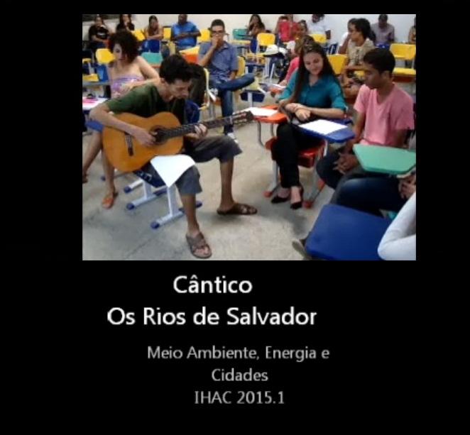 Estudantes fazem homenagem aos rios de Salvador