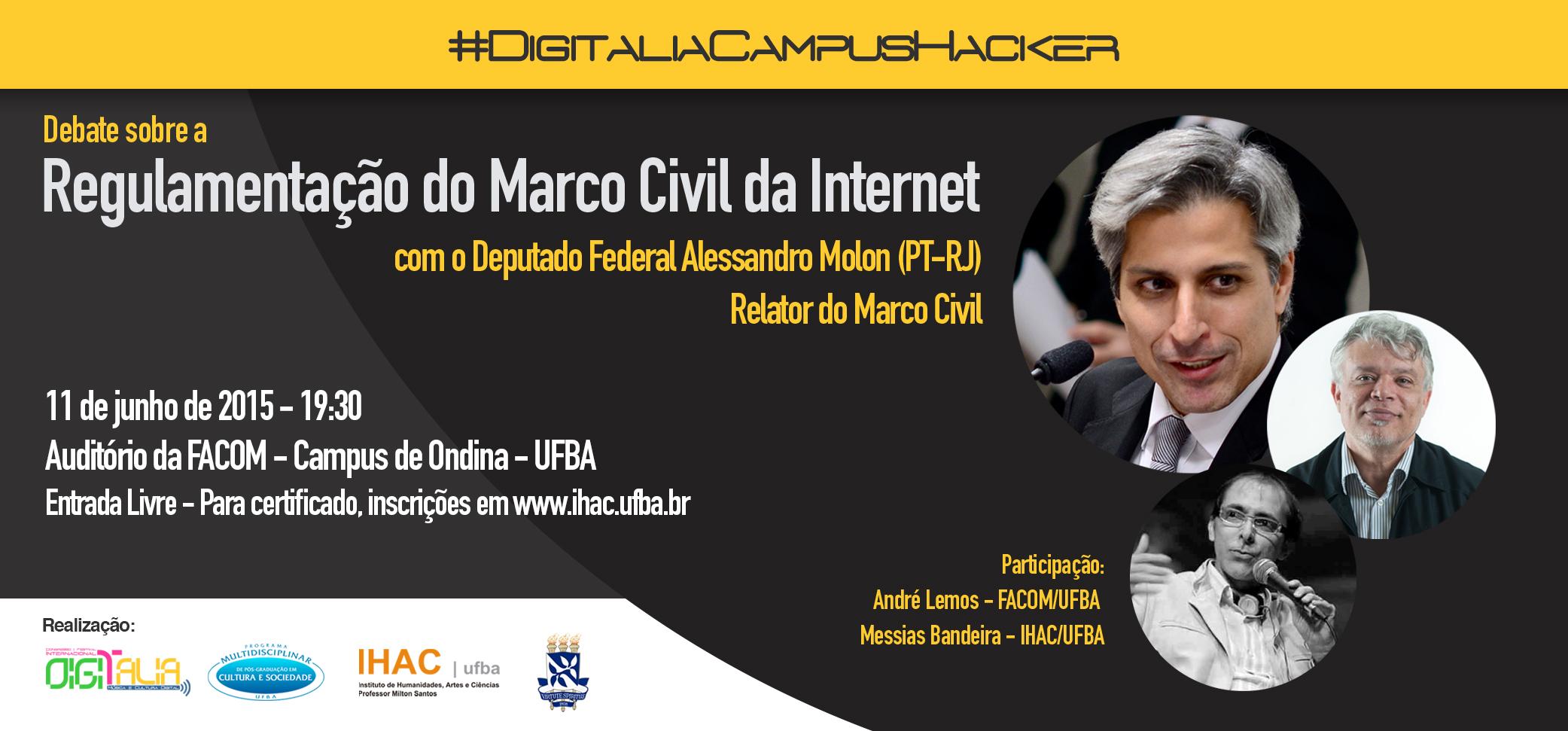 Debate sobre a Regulamentação do Marco Civil da Internet – Inscreva-se!