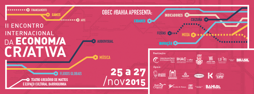 OBEC promove II Encontro Internacional da Economia Criativa