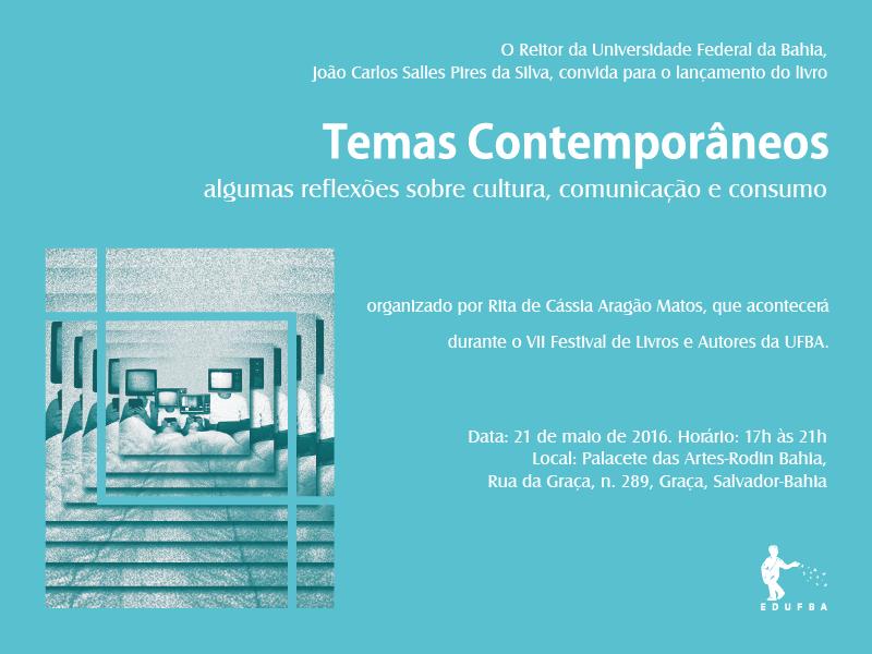 """Lançamento do Livro """"Temas contemporâneos"""""""