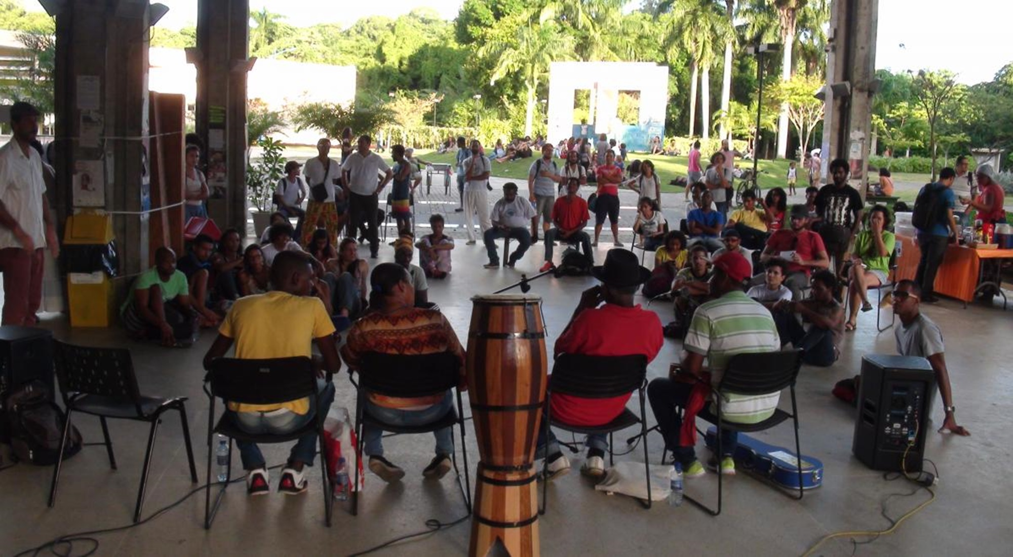 A PROEXT Promove Mais uma Edição do AÚ: A UFBA e os/as Mestre/as de Capoeira.
