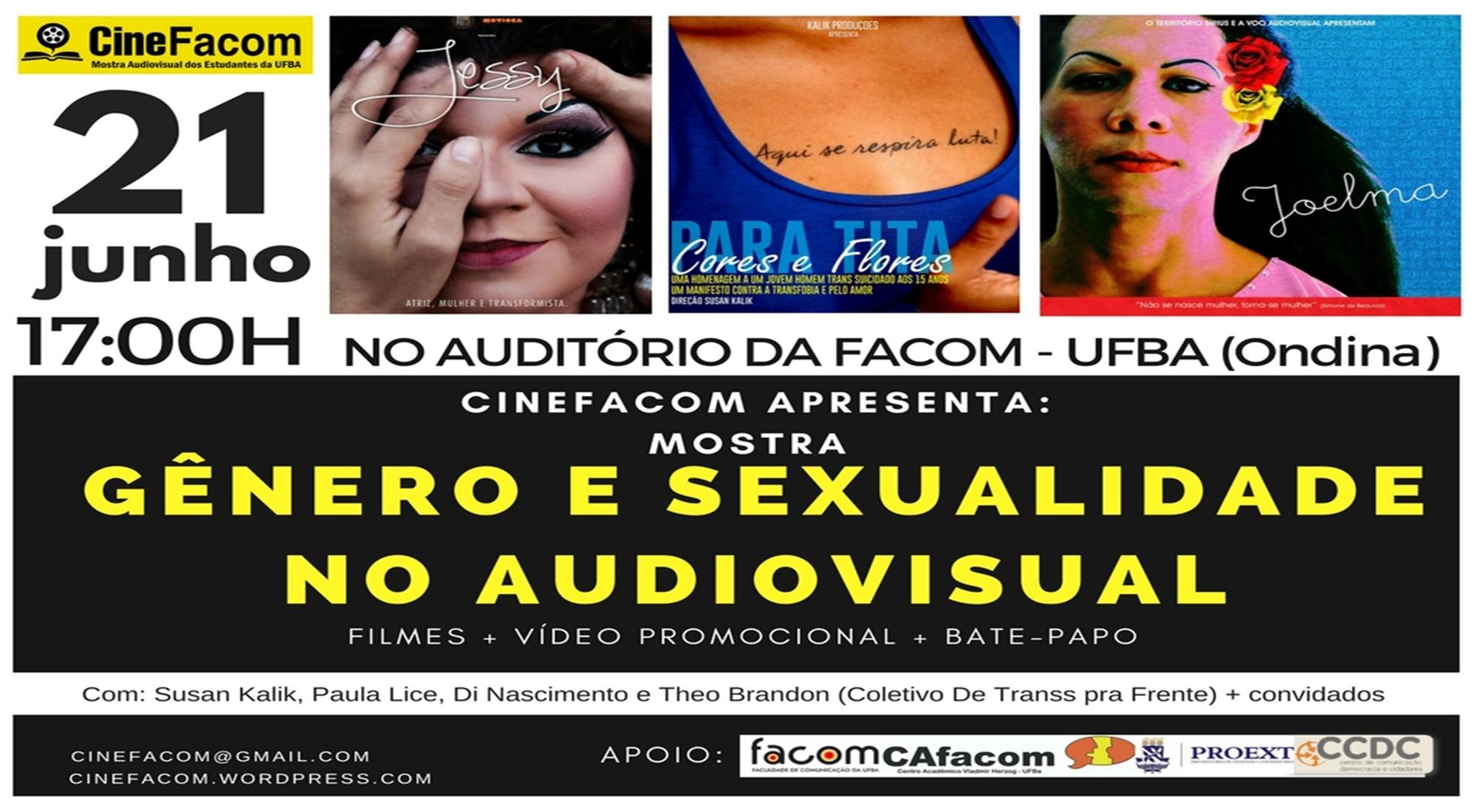 CineFacom Realiza a Mostra Gênero e Sexualidade no Audiovisual