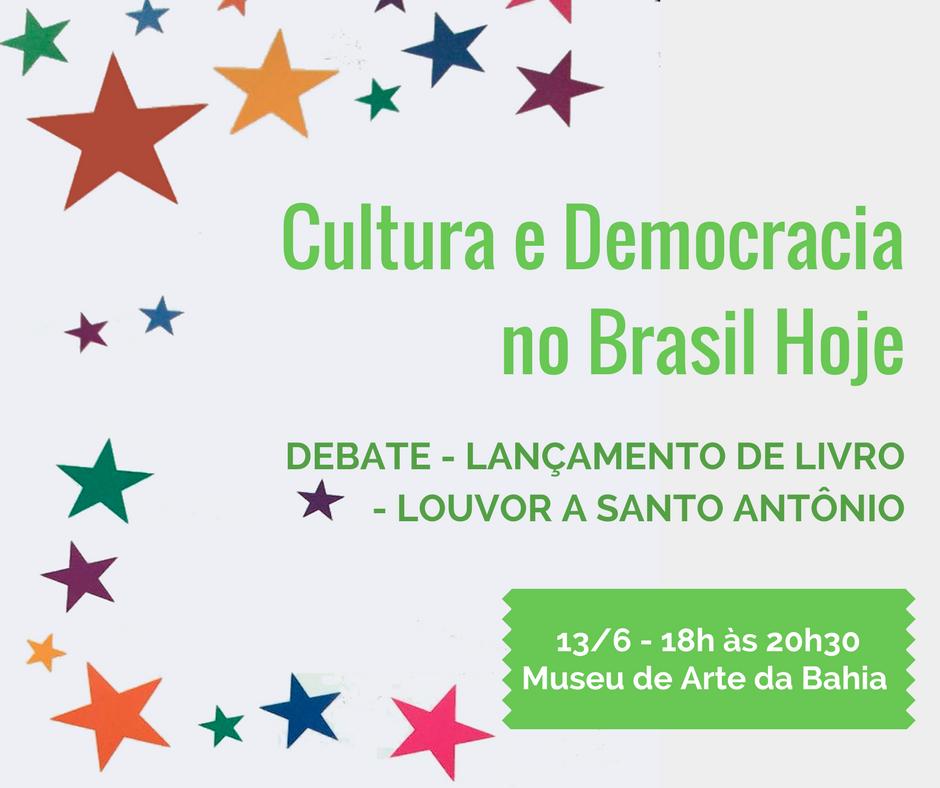 Professor Albino Rubim (Pós-Cultura/IHAC) lança livro nesta terça-feira, 13, no Museu de Arte da Bahia