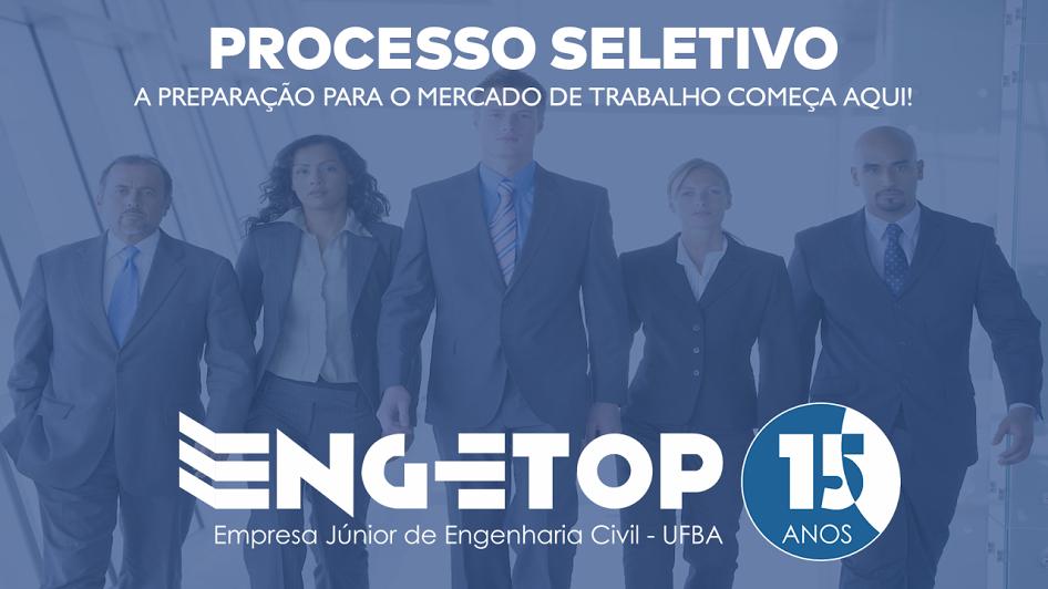 Empresa Júnior de Engenharia Civil da UFBA abre inscrições para o processo seletivo 2017.2