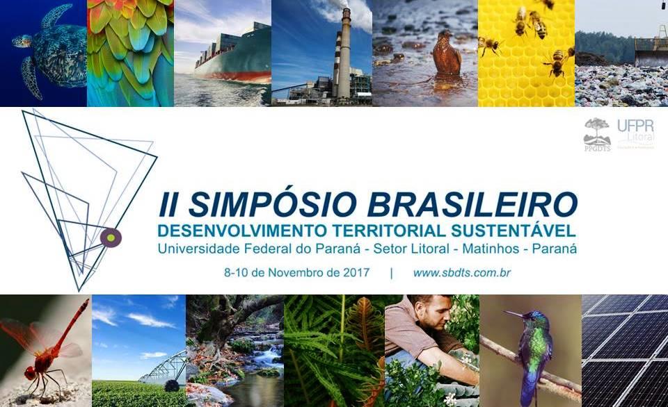 II Simpósio Brasileiro de Desenvolvimento Territorial Sustentável abre chamada para o envio de trabalhos