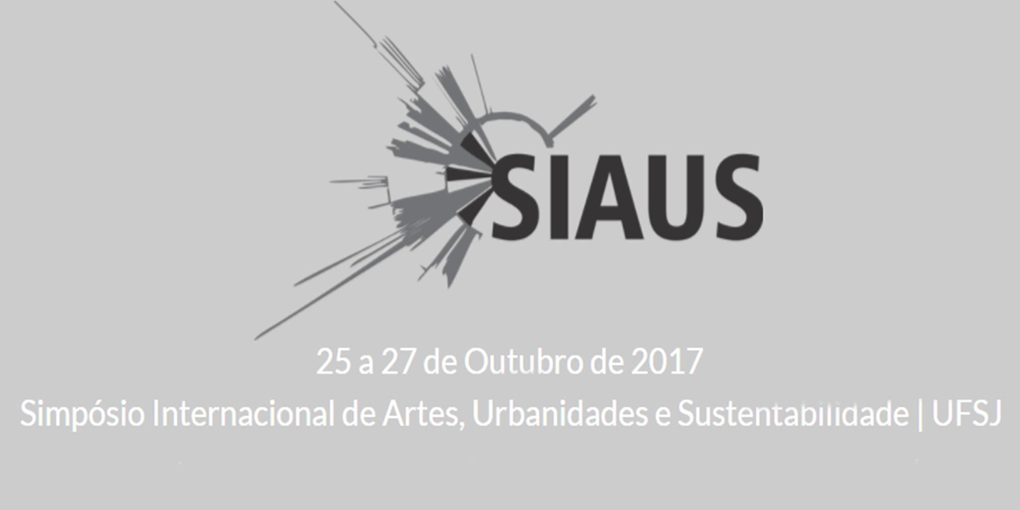 Submissão de trabalhos no 1º Simpósio Internacional: Conectando Artes, Urbanidades e Sustentabilidade, UFSJ