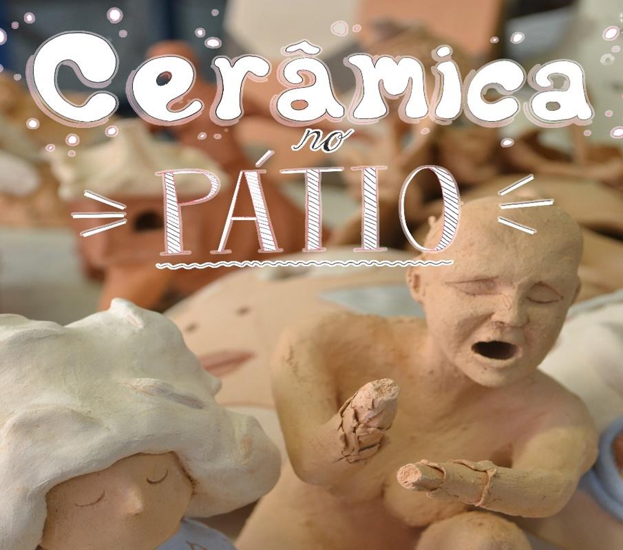 """Escola de Belas Artes sedia ação expositiva """"Cerâmica no Pátio"""" coordenada pela Profa. Conceição Fernandes"""