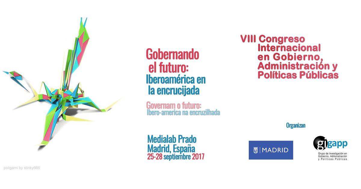 Servidora técnico-administrativa do IHAC e doutoranda do Pós-Cultura apresenta trabalho no VIII Congresso Internacional do GIGAPP em Madri
