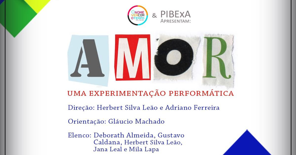 """Experimentação performática """"AMOR"""" será apresentada no Congresso da UFBA 2017"""