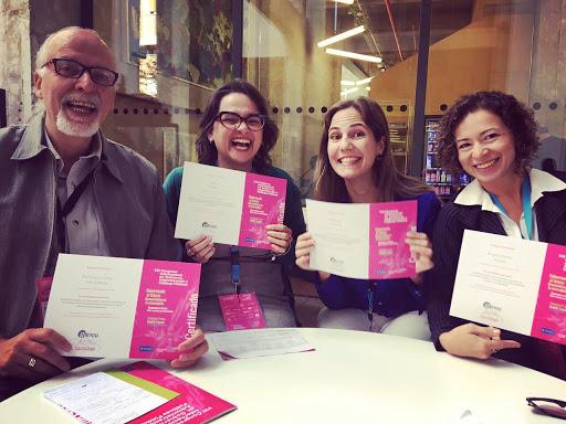 Doutorandas do Pós-Cultura apresentam trabalho na Espanha