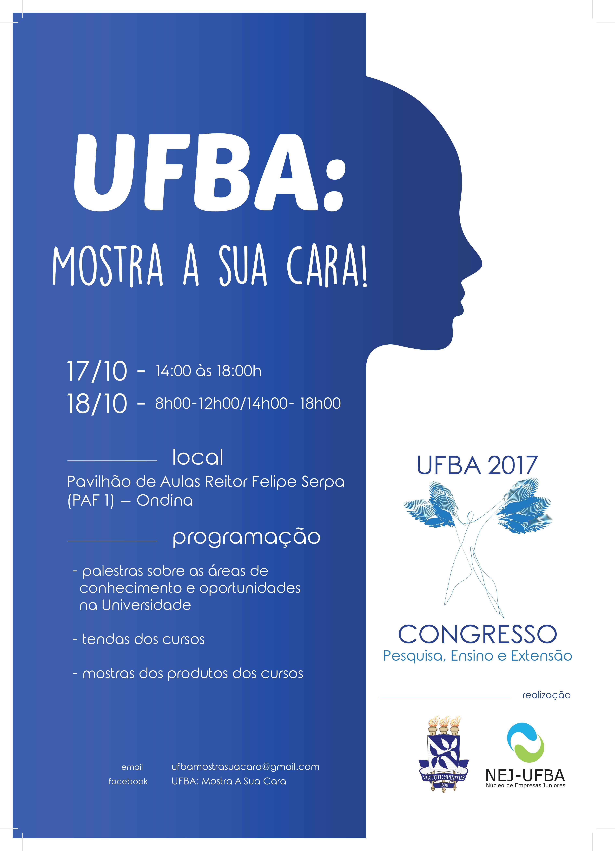 Projeto UFBA Mostra Sua Cara participa do Congresso da UFBA 2017