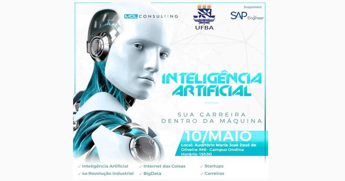 Departamento de Estatística do IME/UFBA realiza palestra sobre inteligência artificial