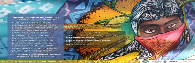 Movimento Zapatista é tema de exposição e bate-papo em Cajazeiras V
