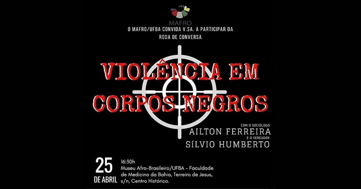 Roda de conversa com a cineasta Camila de Moraes – dia 9 de maio no MAFRO/UFBA