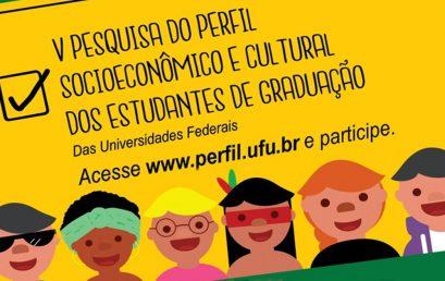 V Pesquisa do Perfil Socioeconômico e Cultural dos Estudantes de Graduação das IFES segue até o dia 07 de julho