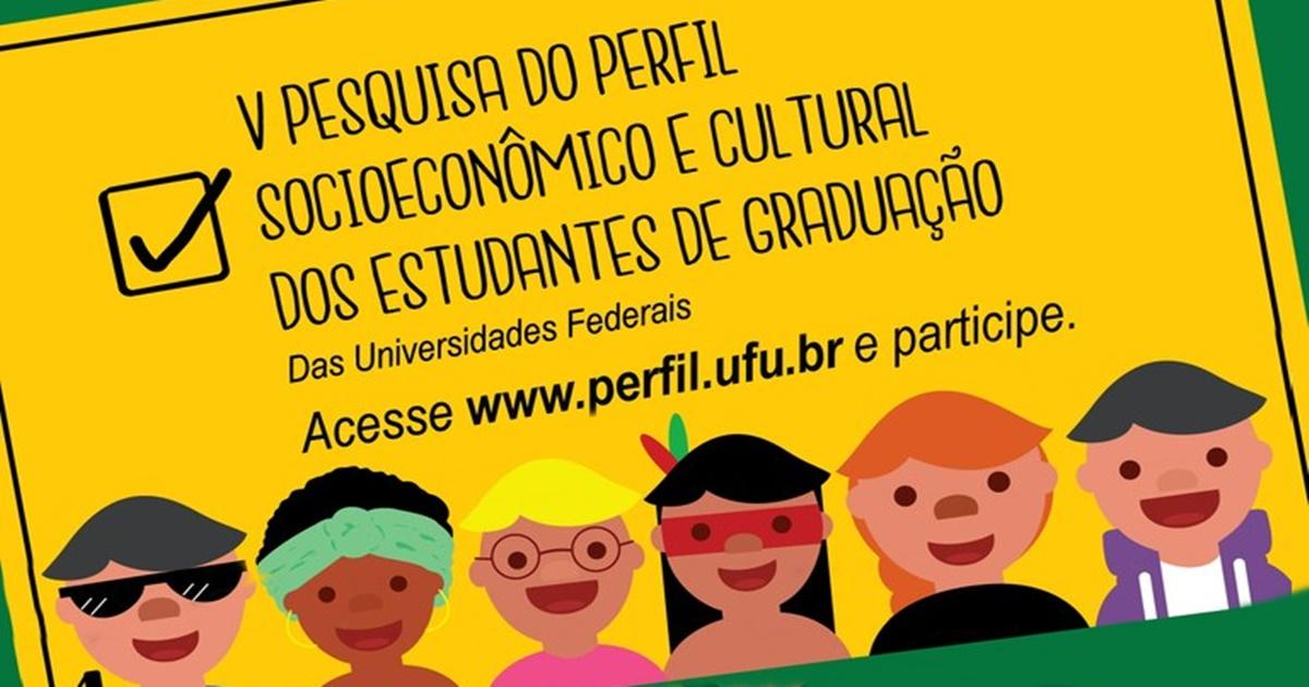 Últimos dias para participar da V Pesquisa do Perfil Socioeconômico e Cultural dos Estudantes de Graduação das IFES