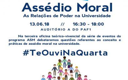 Ouvidoria da UFBA realiza oficina sobre assédio moral e relações de poder na Universidade