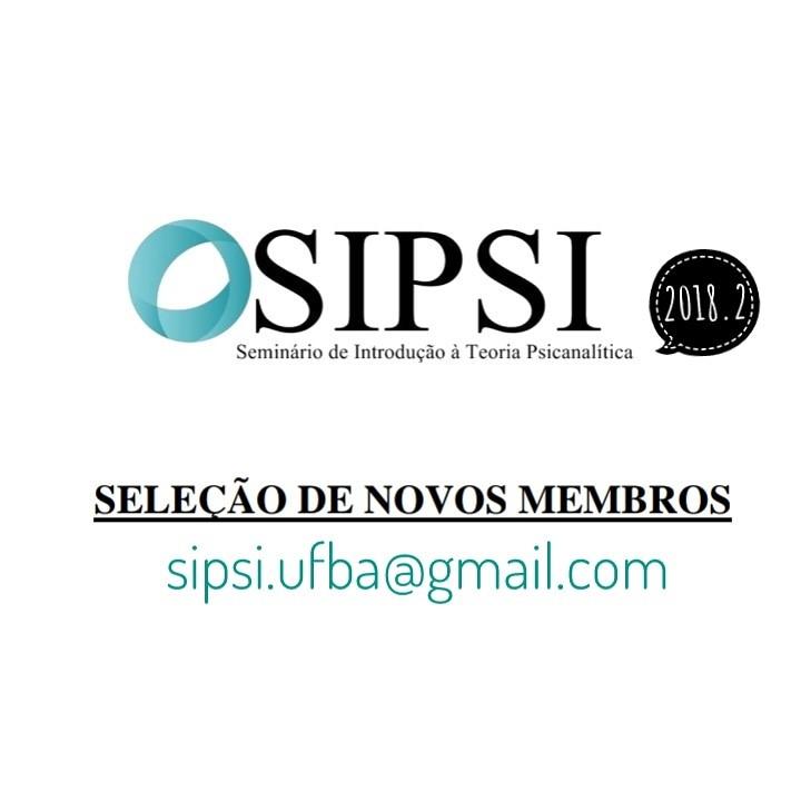 SIPSI seleciona novos membros para o semestre 2018.2