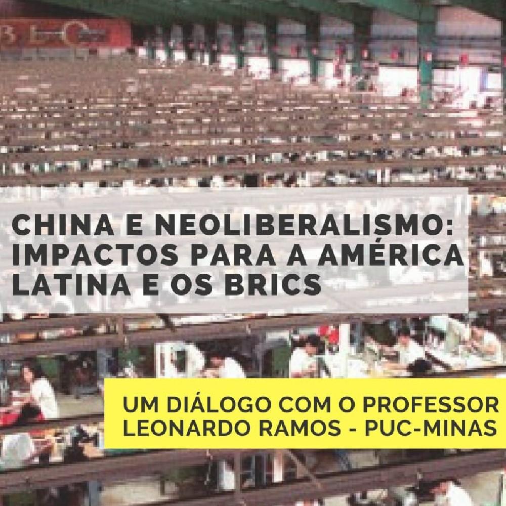 PPGRI, Labmundo e GLOPOLI promovem palestra sobre China e Neoliberalismo
