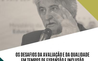 Professor Dilvo Ristoff ministra palestra no IHAC sobre avaliação e qualidade em tempos de expansão e inclusão