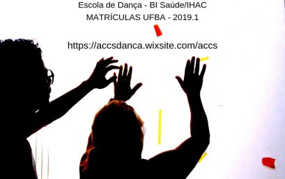 """ACCS """"Acessibilidade em Trânsito Poético"""" abre vagas para estudantes dos BI em 2019.1"""