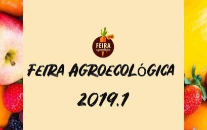 Primeira Feira Agroecológica de 2019.1 acontece na próxima sexta-feira