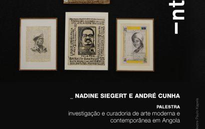 Fórum de Arte INTERVALO promove palestra sobre investigação e curadoria em Angola
