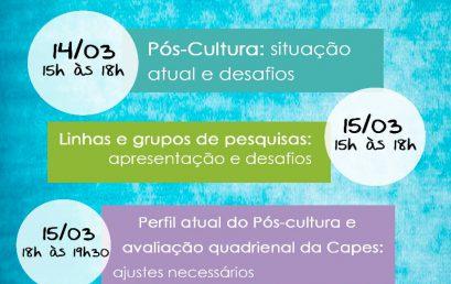 Começa nesta quinta-feira (14) o III Encontro Interdisciplinar do Pós-cultura