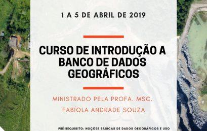 """Datum Engenharia Jr. oferece curso de """"Introdução a Banco de Dados Geográficos"""" aberto para estudantes do BI em C&T"""