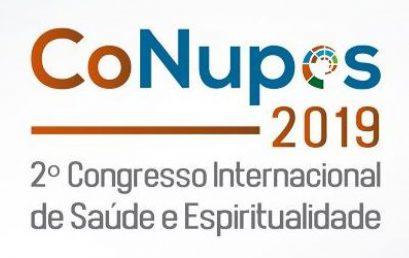 Ex-aluna do PPGEISU é premiada no 2º Congresso Internacional de Saúde e Espiritualidade
