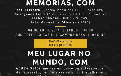 NuCuS promove duas atividades nesta quinta-feira (04) no IHAC