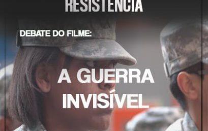 """PET """"Comunidades Populares"""" promove debate sobre o filme """"A Guerra Invisível"""" no Cinema da UFBA"""