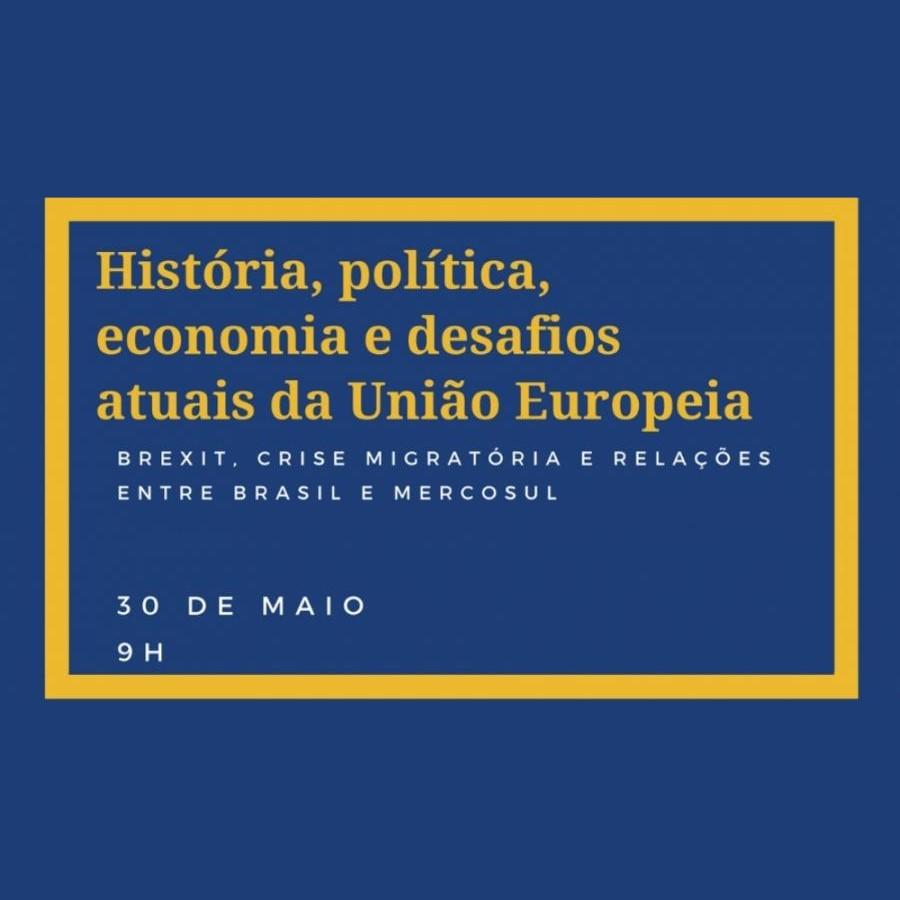 História, política, economia e desafios atuais da União Europeia são tema de Palestra na FACOM