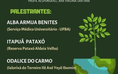 """ACCS """"A terra como cura: geologia e saberes tradicionais"""" promove mesa redonda"""