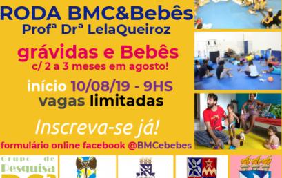 """Projeto """"Roda BMC & Bebês"""" abre inscrições para 2019.2"""
