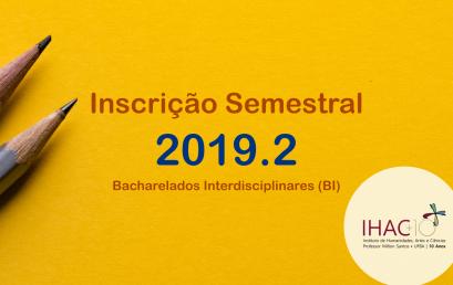 Professoras Substitutas contratadas (Maria Dolores Rodriguez e Nirlyn Conceição) – Semestre 2019.2