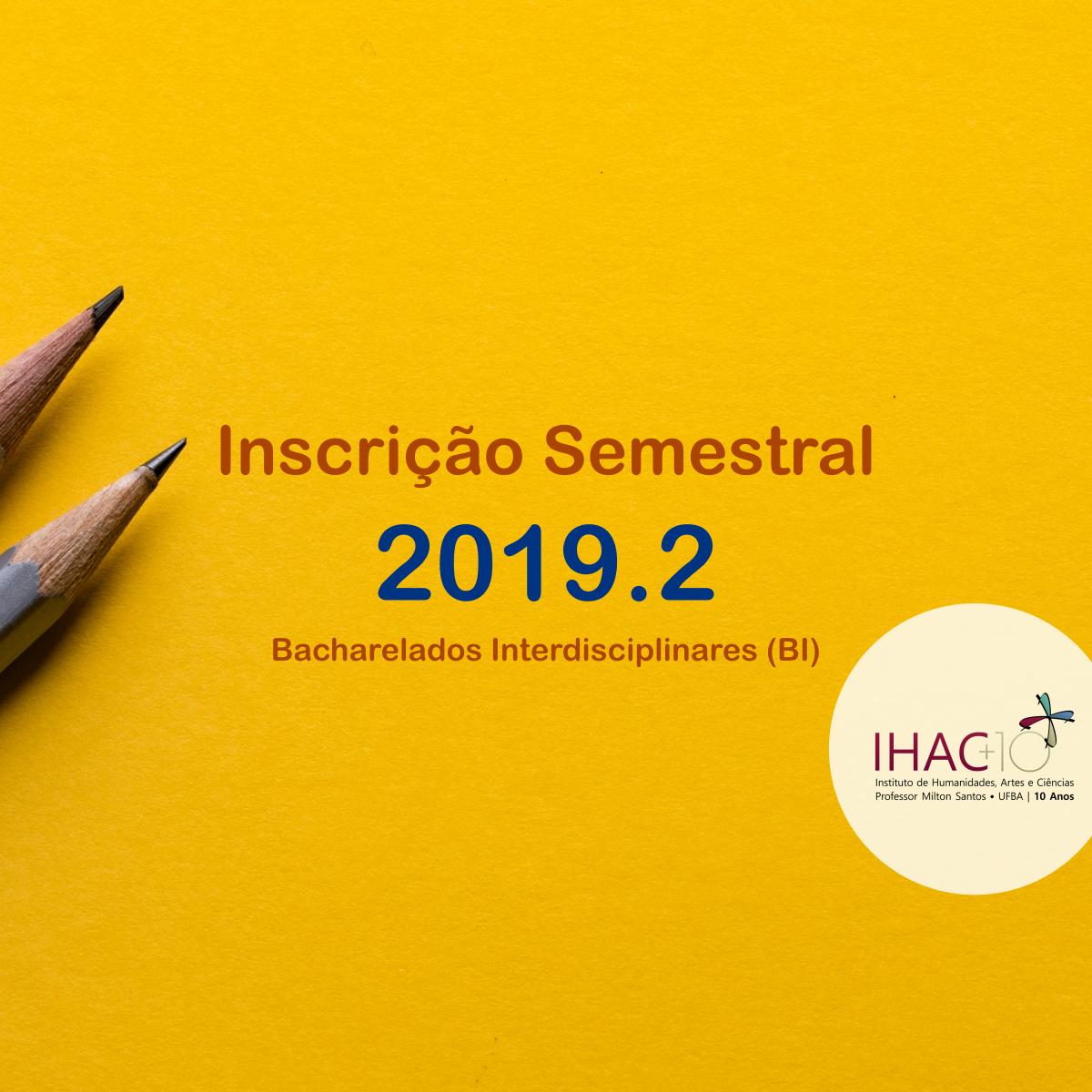Professores Substitutos contratados (Júlio César Sousa e Sérgio Ferreira) – Semestre 2019.2