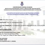A Formação docente nos cursos de licenciatura da UFBA