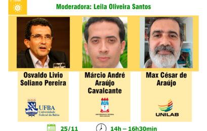 Professor Osvaldo Soliano (IHAC) participa de debate sobre energia limpa e acessível