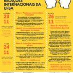 Inscrições abertas para o I Seminário Discente do Programa de Pós-Graduação em Relações Internacionais