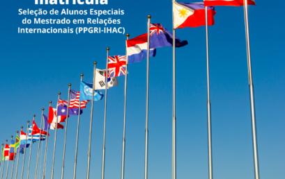 PPGRI divulga resultado final da seleção de alunos especiais 2021.1