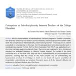 Professora Maria Thereza Coelho publica trabalho em revista internacional