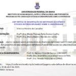 Usos e significados atribuídos às práticas integrativas e complementares por estudantes do Bacharelado Interdisciplinar em Saúde da Universidade Federal da Bahia