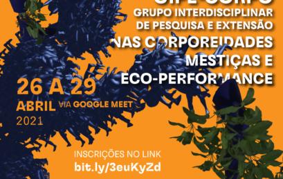 I Seminário Interno do GIPE-CORPO acontece de 26 a 29 de abril via Google Meet