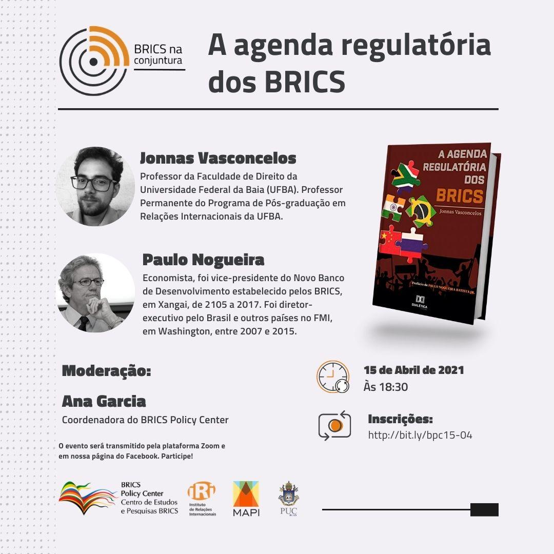 Docente do PPGRI publica livro sobre a agenda regulatória dos BRICS