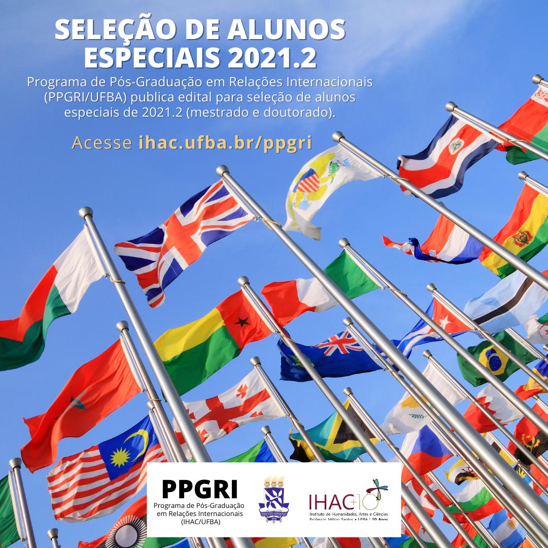 PPGRI divulga edital para seleção de alunos especiais de 2021.2