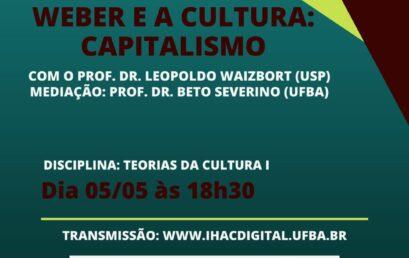 Aula aberta do Pós-Cultura recebe o professor Leopoldo Waizbort (USP)