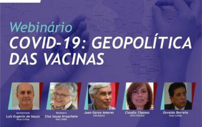 """Labmundo e Rede Co-Vida/Fiocruz promovem debate sobre """"Geopolítica das Vacinas"""""""