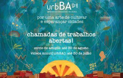 Chamadas de trabalhos abertas para o urbBA[21]